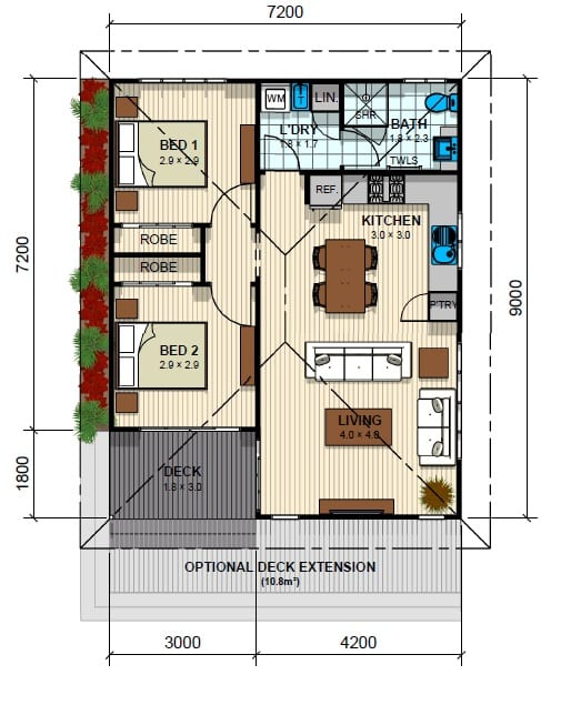 Mornington Floor Plan