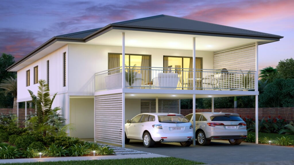Noosa 140 4 Bed 2 story home