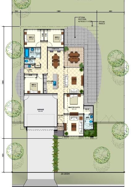 Prestige Retreat Floor Plan